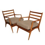 Pair of Carlo Di Carli Armchairs