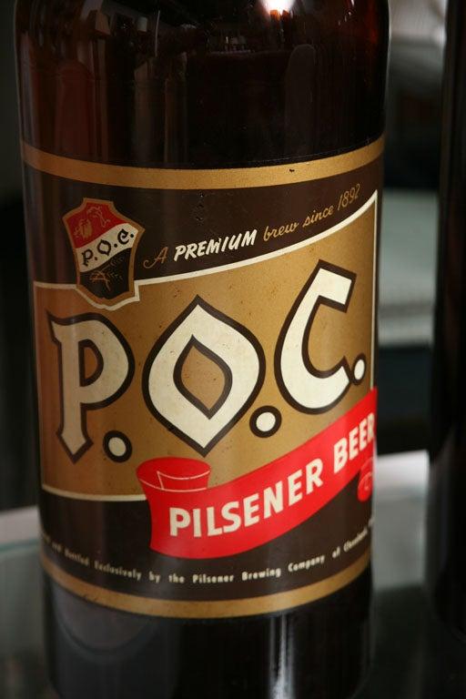 Pop Art Supersize Beer Bottles For Sale At 1stdibs