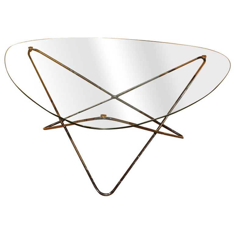 pierre guariche coffee table at 1stdibs. Black Bedroom Furniture Sets. Home Design Ideas