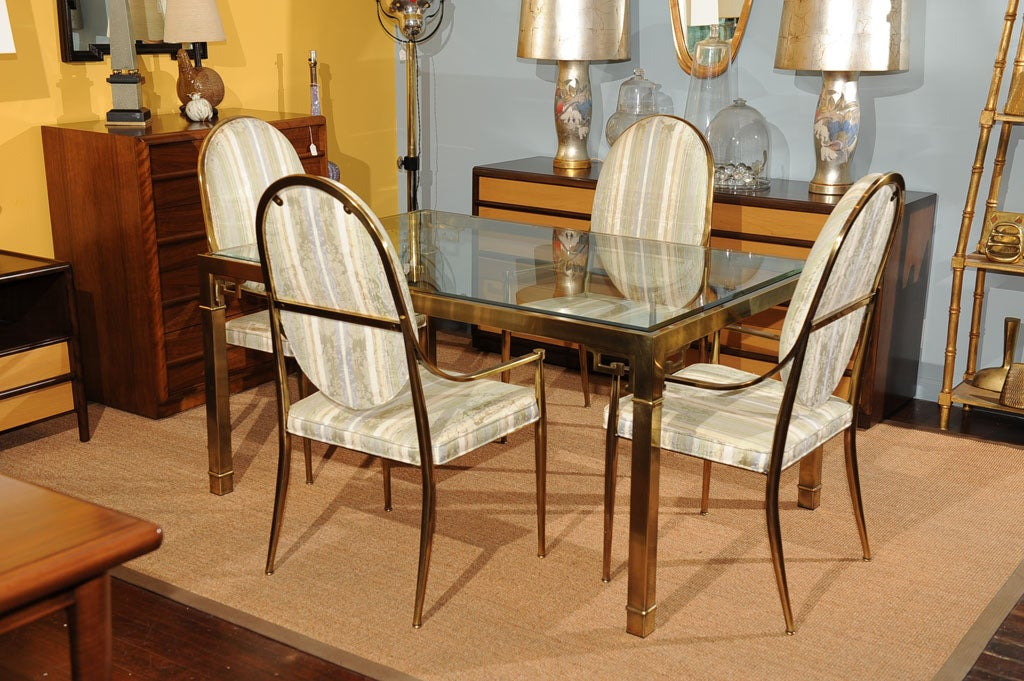 Mastercraft Dining Table and Chairs at 1stdibs : DSC2306 from 1stdibs.com size 1024 x 681 jpeg 158kB