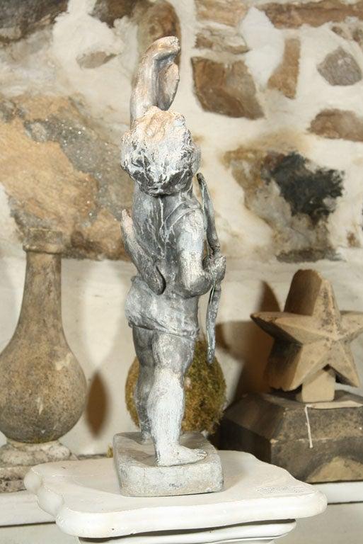20th Century Fine Lead Statue of Cupid 'Eros' For Sale