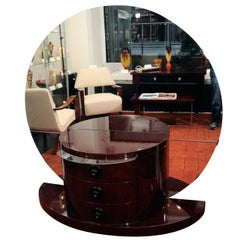 Half Circle Deco Dressing Table Model Used Lucille Ball