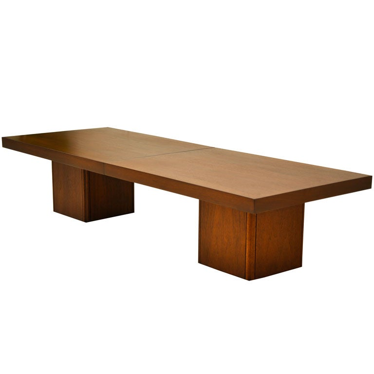 John Keal Expandable Coffee Table At 1stdibs