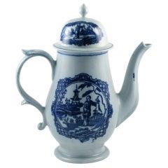 Liverpool Porcelain Teapot