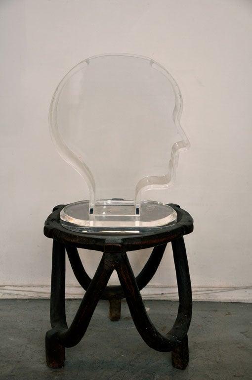 French Plexiglass Vase / Fish Tank by Nicola L.