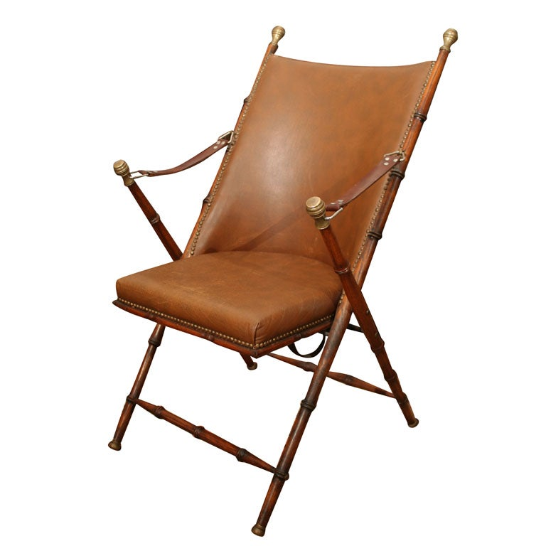 Campaign Chair At 1stdibs