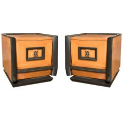 1950's Asian Moderne Side Tables