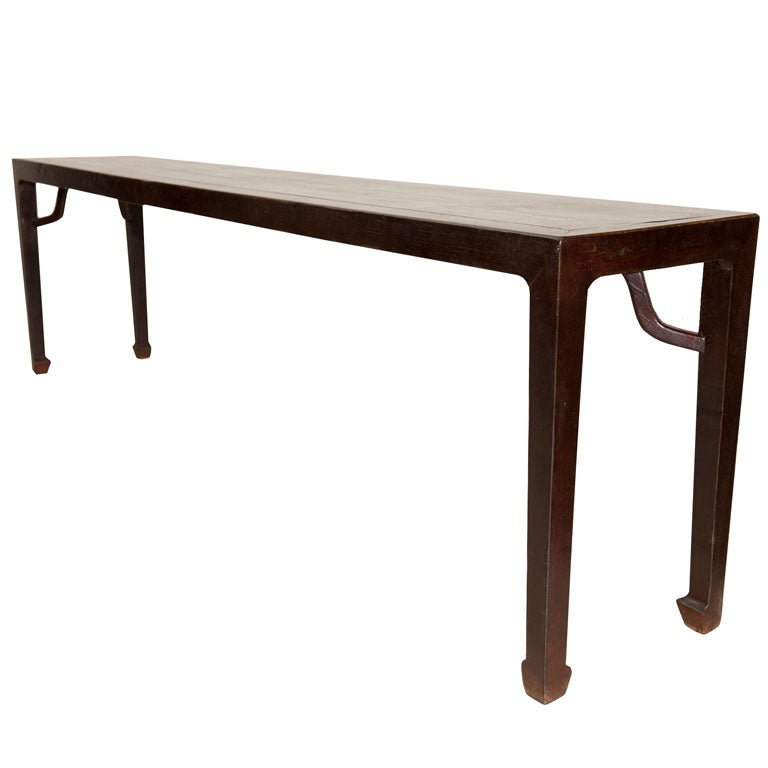 very long console table at 1stdibs