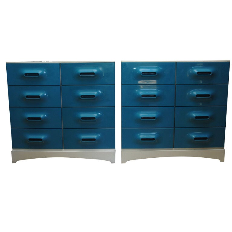 A Pair of Chest of Drawers