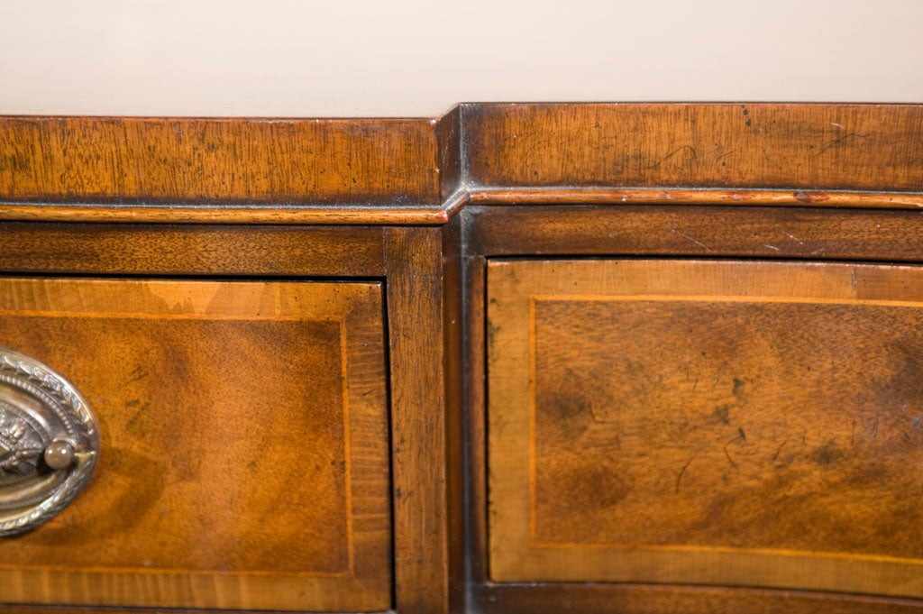 antique mahogany sideboard buffet by baker furniture co at 1stdibs