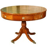 Classic  Regency  Drum  Table