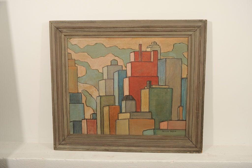 Cityscape by Helen Auer 5
