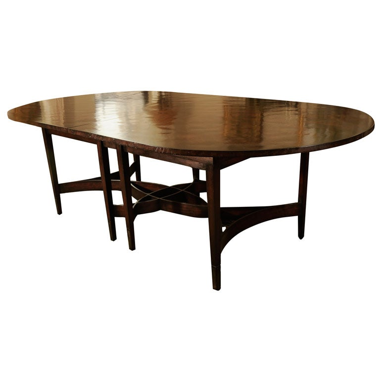 Oval Ribbon Based Dining Table by Holly Hunt at 1stdibs : x from 1stdibs.com size 768 x 768 jpeg 33kB