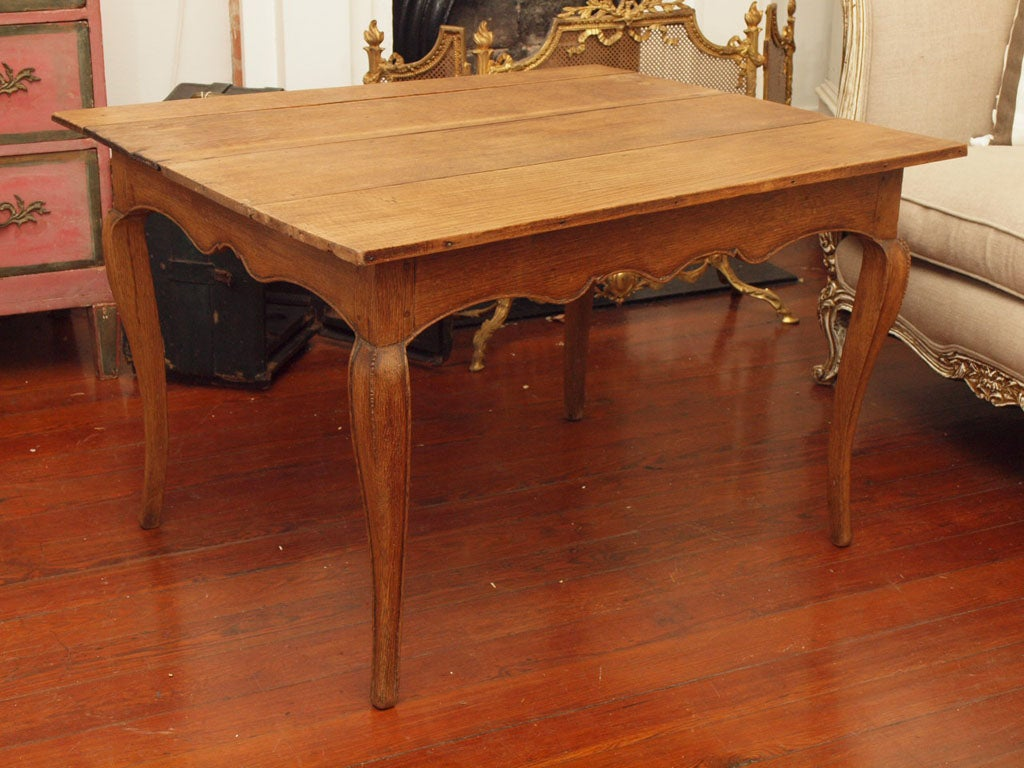 Antique French Provincial Tea Table Or Side Table 2