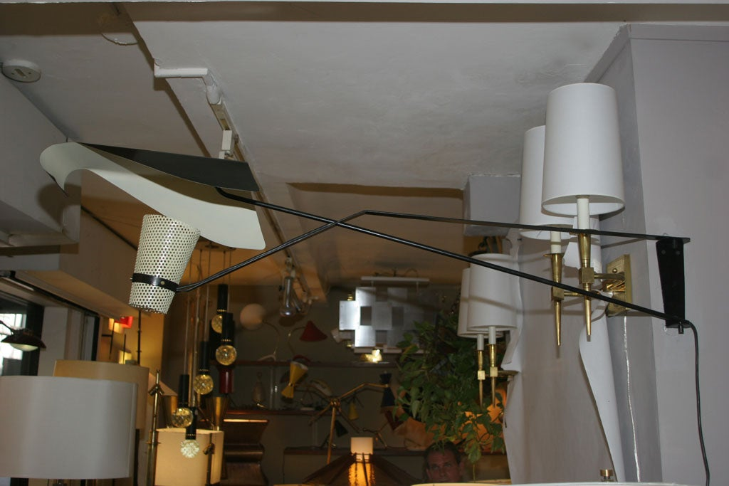 French Modernist Wall Fixture 2