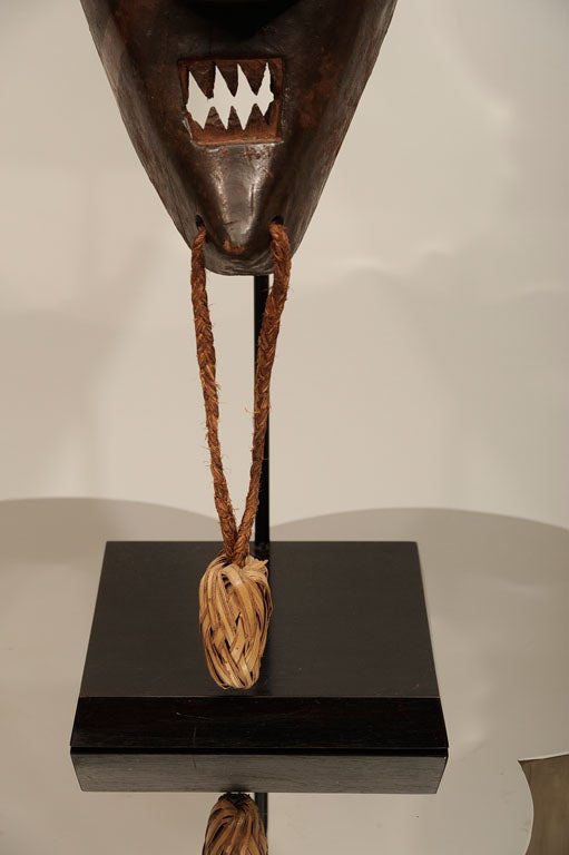 Congolese Old and Good Salampasu Mask For Sale