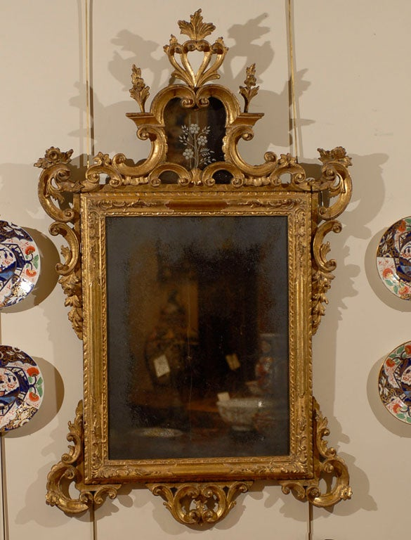 Pair of italian rococo style gilt mirrors ca 1890 at 1stdibs for What is the other name for the rococo style