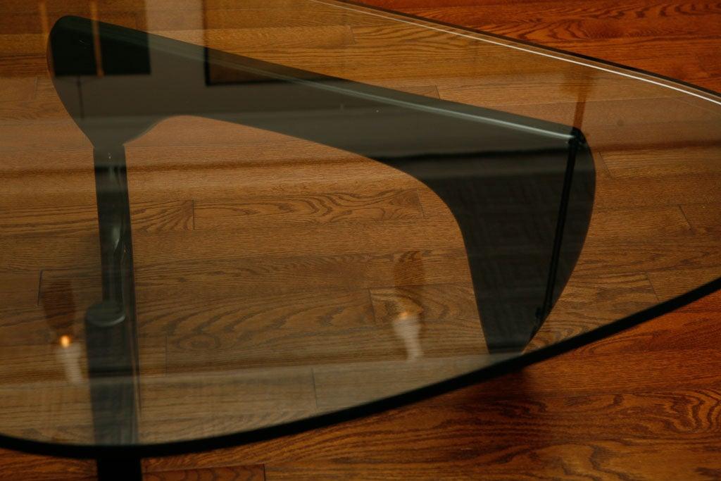 Noguchi Glass Top Table At 1stdibs