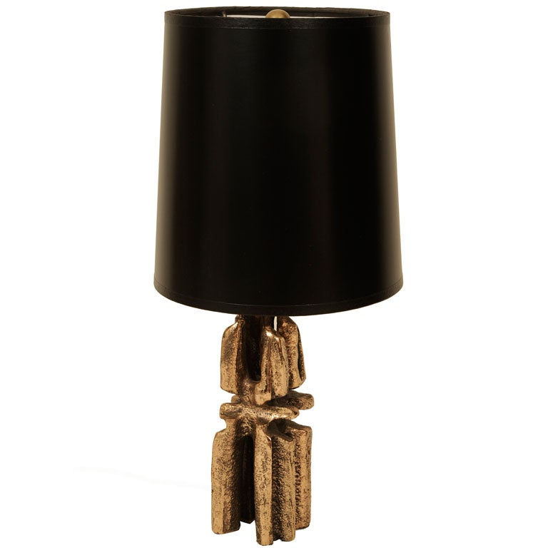 very small bronze lamp at 1stdibs
