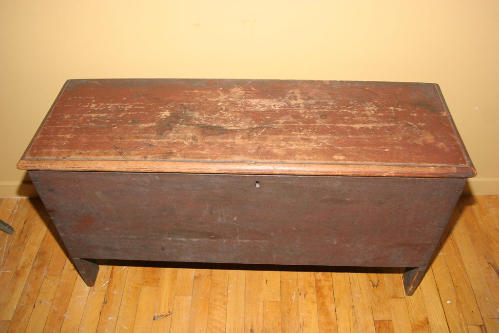 Painted Blanket Chest For Sale 1