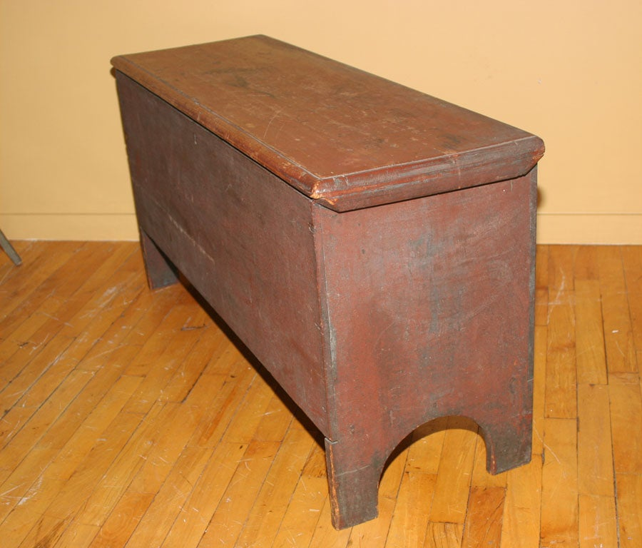 Painted Blanket Chest For Sale 2
