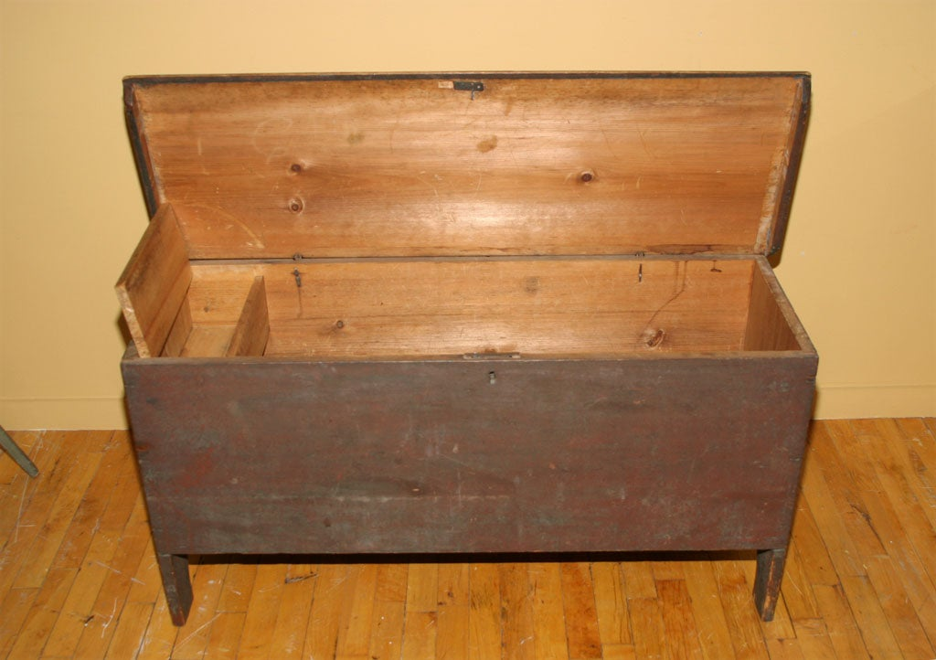 Painted Blanket Chest For Sale 3