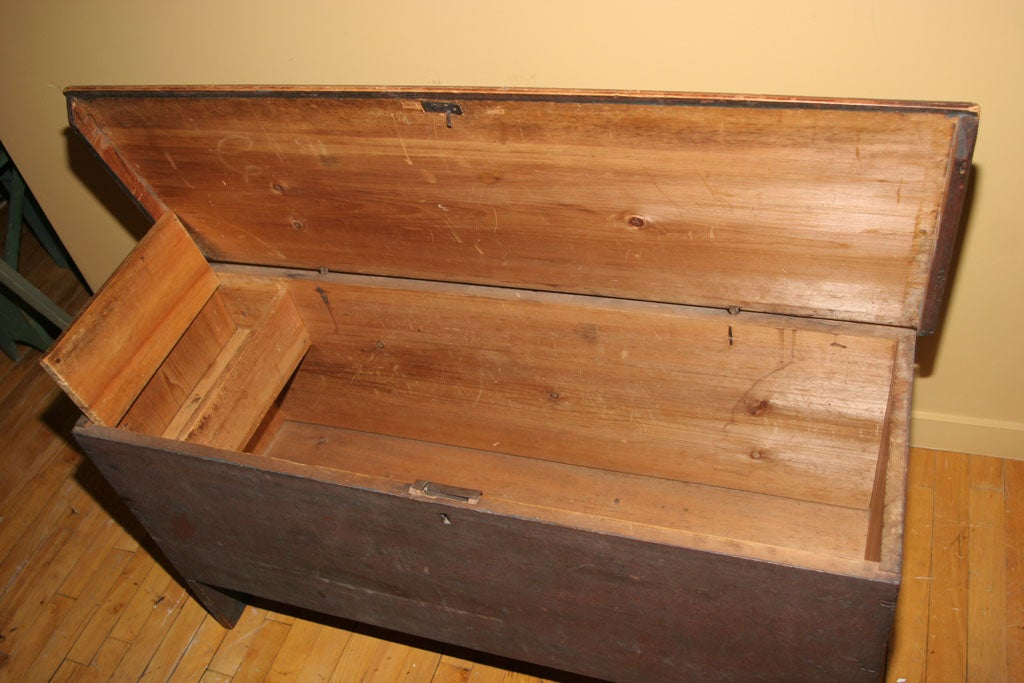 Painted Blanket Chest For Sale 5