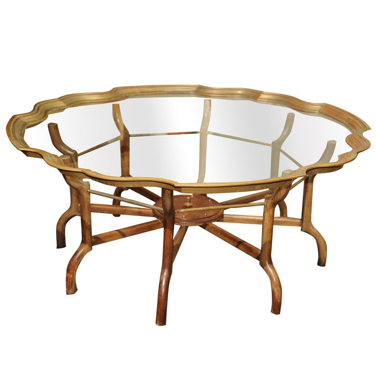 Vintage baker furniture coffee table at 1stdibs Baker coffee table