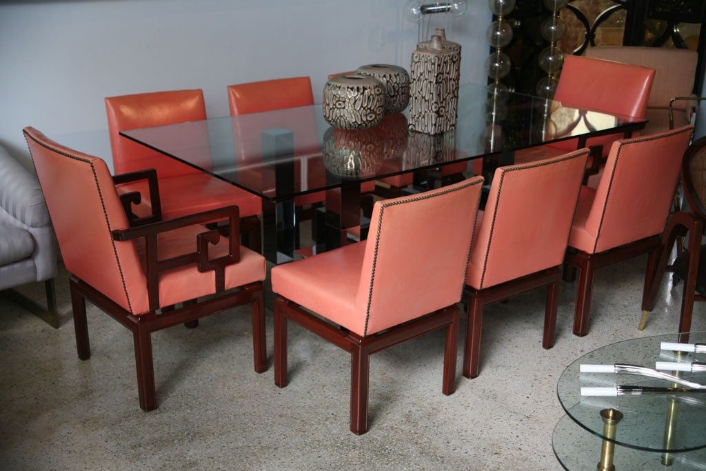 Set of 16 American Modern Mahogany quotFar Eastquot Dining  : IMG8521 from www.1stdibs.com size 1024 x 683 jpeg 116kB