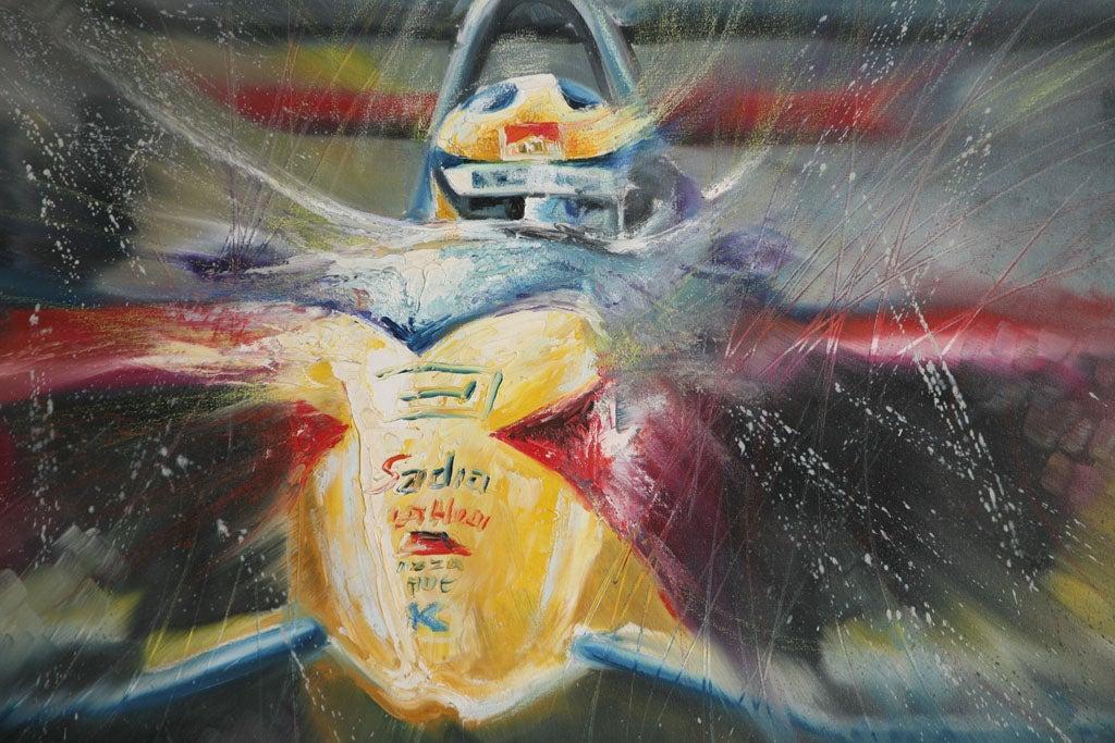 20th Century Pair of Solaris Formula 1 Paintings For Sale