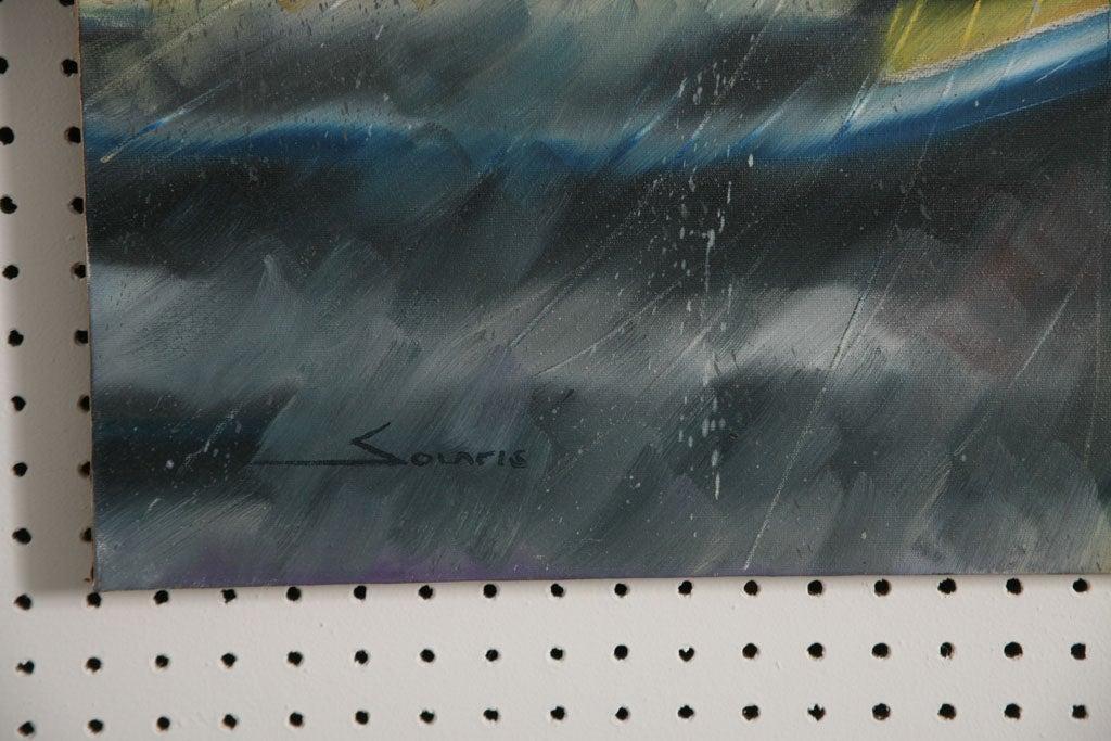 Pair of Solaris Formula 1 Paintings For Sale 1
