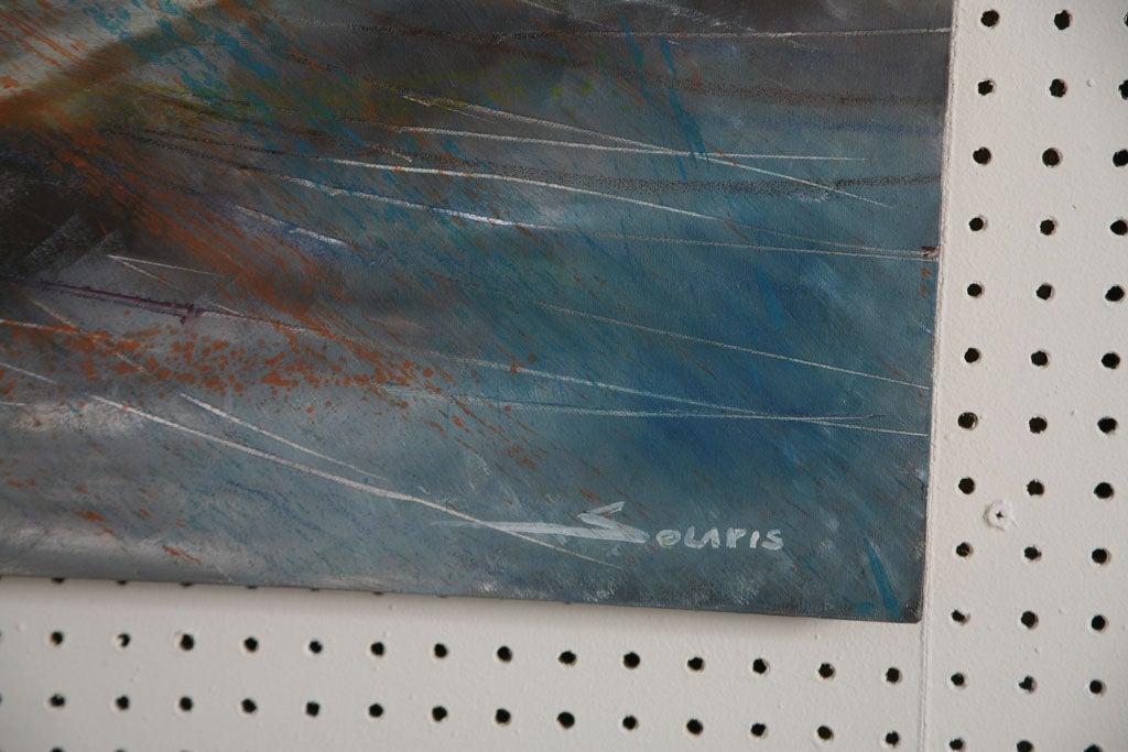 Pair of Solaris Formula 1 Paintings For Sale 3