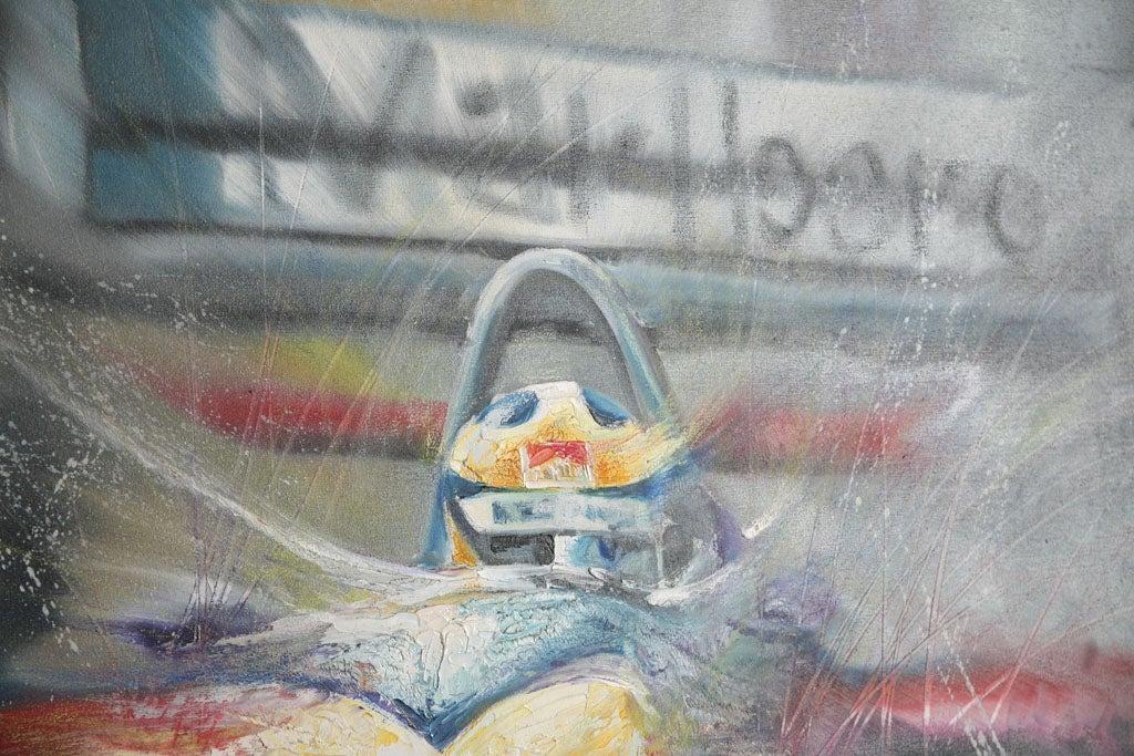 Pair of Solaris Formula 1 Paintings For Sale 4