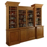 Pine Cupboard / Cabinet with Shelves, Drawers, and Cubbies