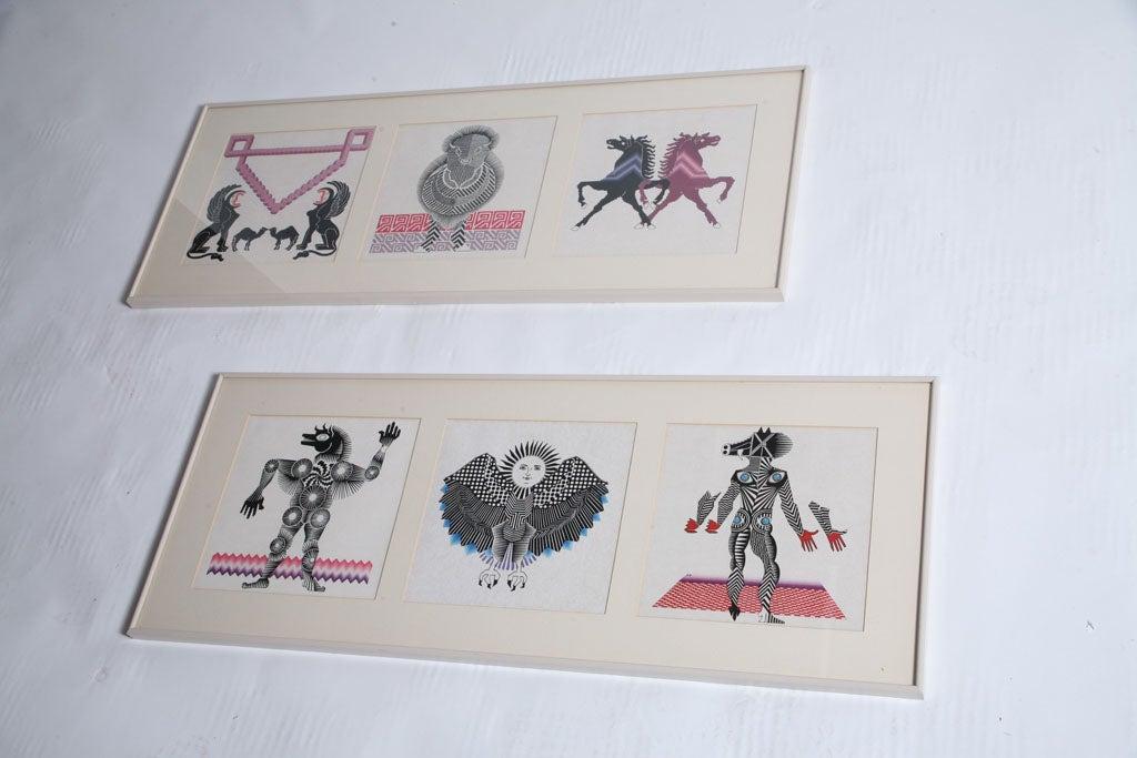 Pedro Friedeberg Lithographs 3