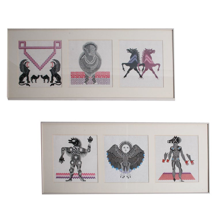 Pedro Friedeberg Lithographs