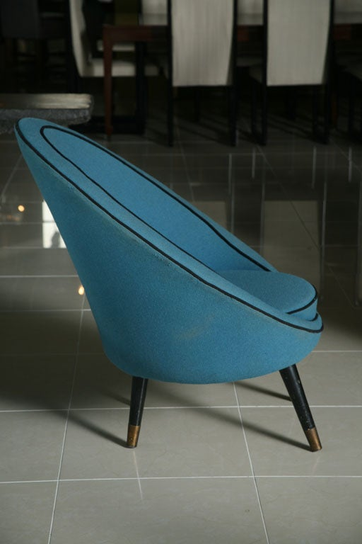 Mid-20th Century Italian Modern Chair by Ico Parisi For Sale