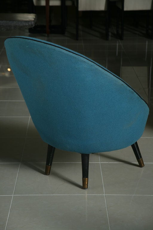 Italian Modern Chair by Ico Parisi For Sale 1