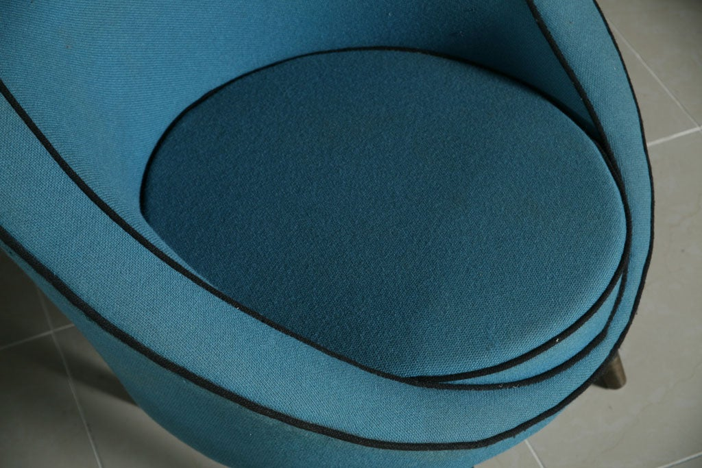 Italian Modern Chair by Ico Parisi For Sale 2