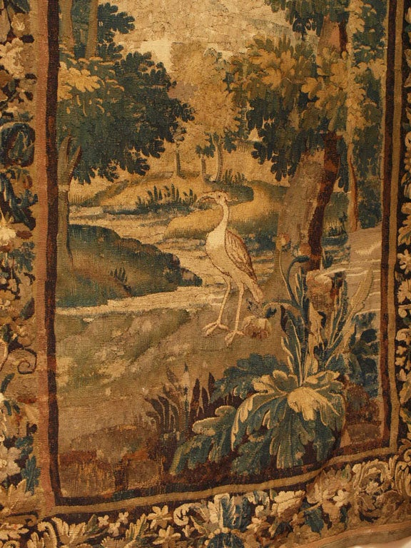 17TH CENTURY BRUSSELS TAPESTRY image 3