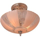 French Deco Chandelier Pink Engraved We Have Many Pink Deco Fixtures Restored