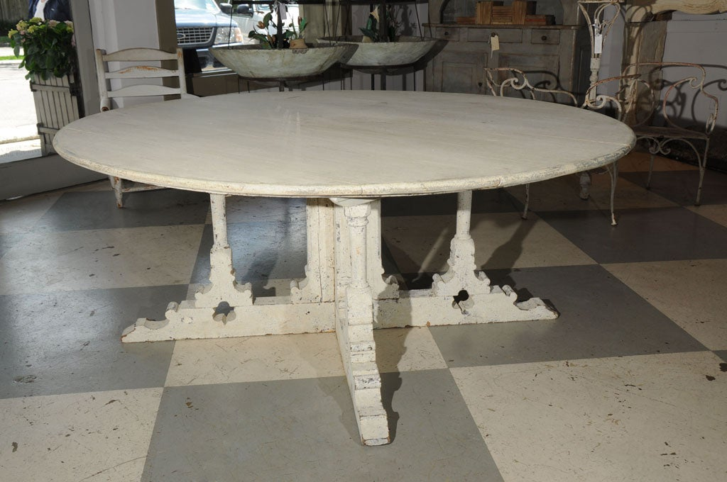 Swedish dining table at 1stdibs for Really cool dining tables