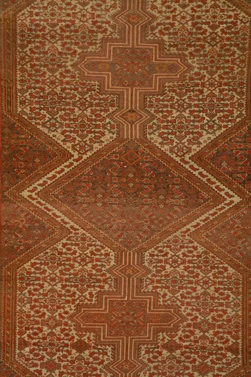 Antique Persian Mallayer Rug  2