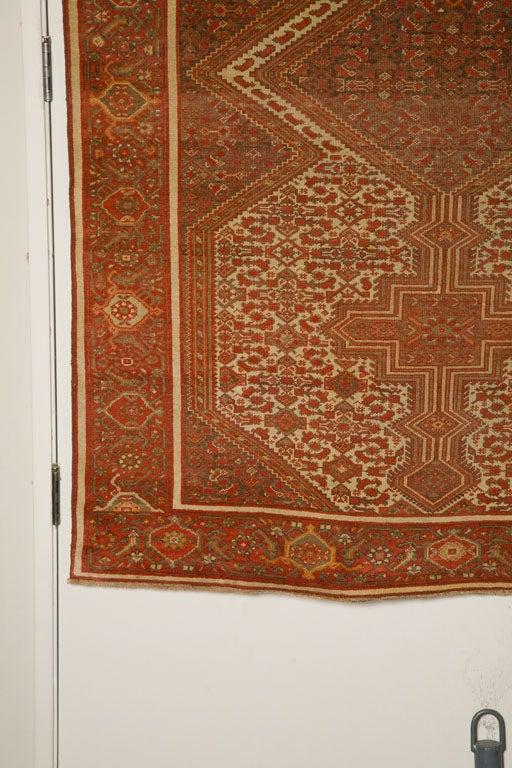 Antique Persian Mallayer Rug  3