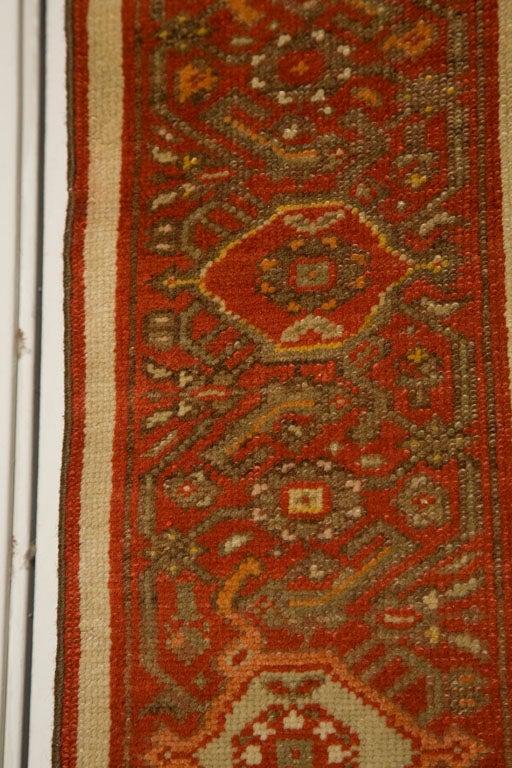Antique Persian Mallayer Rug  4