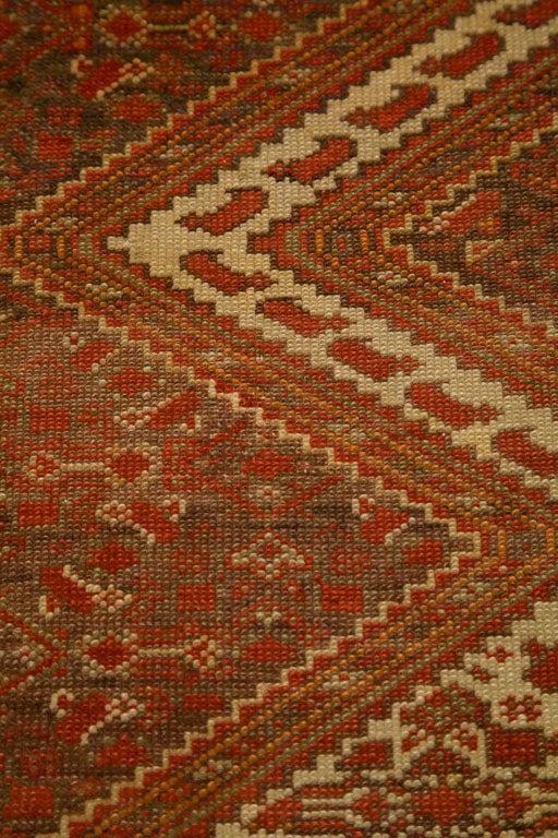 Antique Persian Mallayer Rug  5