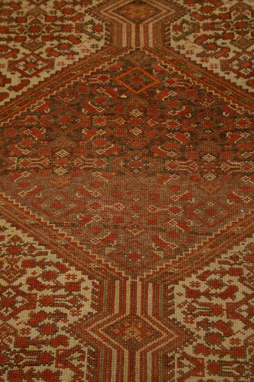 Antique Persian Mallayer Rug  6