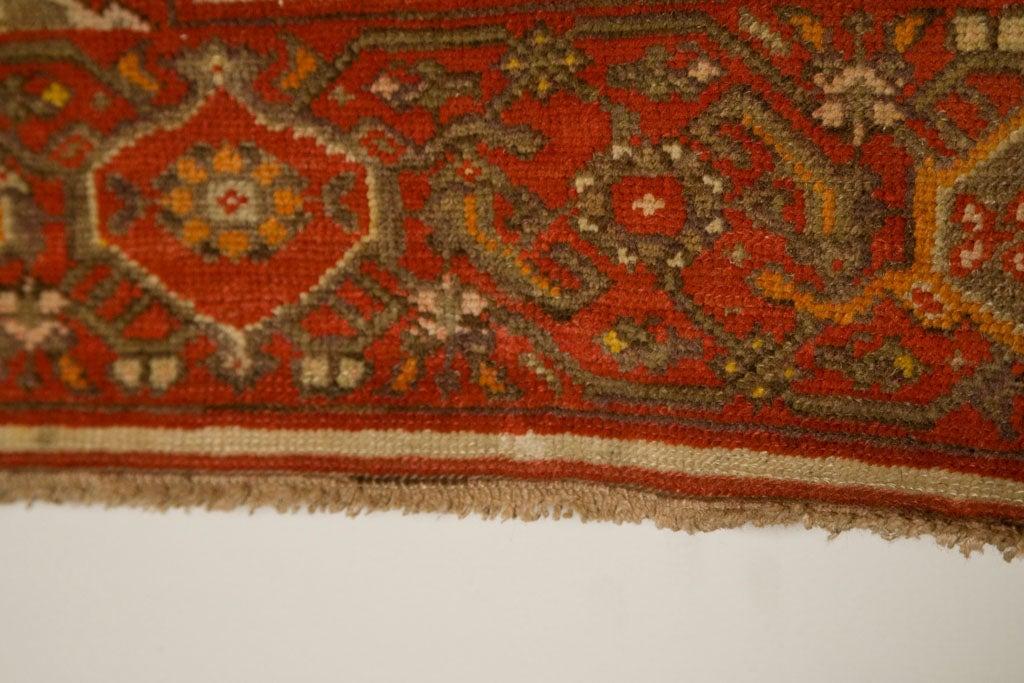 Antique Persian Mallayer Rug  7