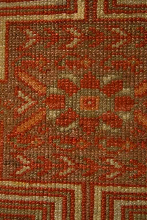 Antique Persian Mallayer Rug  9