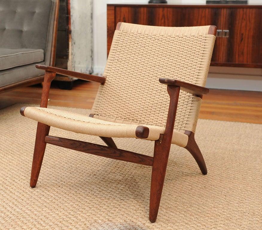 hans wegner ch25 armchair at 1stdibs. Black Bedroom Furniture Sets. Home Design Ideas